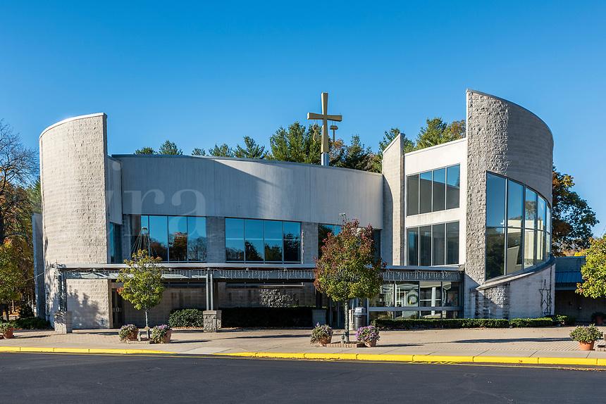 National Shrine of our Lady of La Salette, Attleboro, Massachusetts, USA.