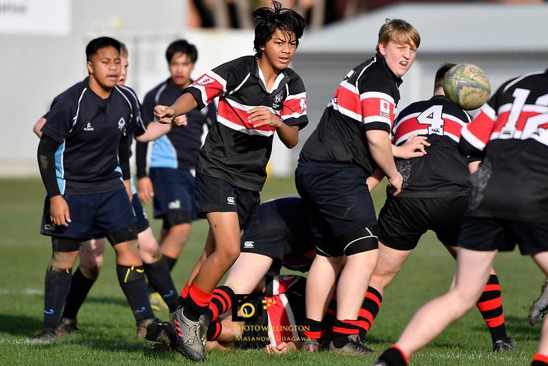 U15 Rugby - Scots College v Aotea College at Scots College, Wellington, New Zealand on Saturday 5 June 2021. <br /> Photo by Masanori Udagawa. <br /> www.photowellington.photoshelter.com