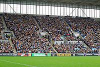 Photo: Ian Smith/Richard Lane Photography. Wasps v Bath Rugby. Aviva Premiership. 24/12/2016. A big crowd enjoy the match.