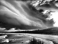 Storm cell over Hastings Point in northern New South Wales