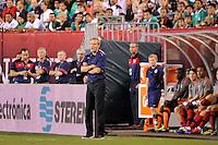 United States head coach Jurgen Klinsmann during an international friendly between the men's national teams of the United States (USA) and Mexico (MEX) at Lincoln Financial Field in Philadelphia, PA, on August 10, 2011.