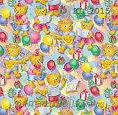 Interlitho, Hans, GIFT WRAPS, paintings, bears, music, balloons(KL7015,#GP#) everyday