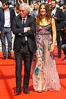 Jacques DOILLON et Izia HIGELIN sur le tapis rouge pour la projection du film RODIN lors du soixante-dixième (70ème) Festival du Film à Cannes, Palais des Festivals et des Congres, Cannes, Sud de la France, mercredi 24 mai 2017. Philippe FARJON / VISUAL Press Agency