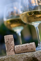 Europe/France/Provence-Alpes-Côte d'Azur/13/Bouches-du-Rhône/Cassis: Clos Val Bruyère AOC Cassis - dégustation de la cuvée Kalahari
