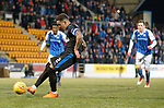 27.02.18 St Johnstone v Rangers:<br /> James Tavernier scores from the spot