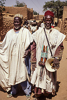Two Griots (Traditional Story-tellers), Zinder, Niger.