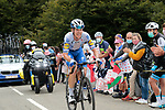 Bob Jungels (LUX) Deceuninck-Quick Step climbs Col de Marie Blanque during Stage 9 of Tour de France 2020, running 153km from Pau to Laruns, France. 6th September 2020. <br /> Picture: Colin Flockton   Cyclefile<br /> All photos usage must carry mandatory copyright credit (© Cyclefile   Colin Flockton)