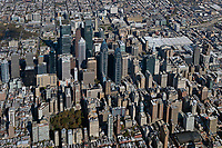aerial photograph of downtown Philadelphia, Pennsylvania