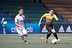 HKFA Red Dragons (in white) vs Singapore Cricket Club (in yellow), during their Main Tournament Plate Quarter-Final match, part of the HKFC Citi Soccer Sevens 2017 on 28 May 2017 at the Hong Kong Football Club, Hong Kong, China. Photo by Chris Wong / Power Sport Images