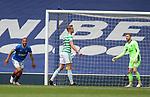 02.05.2021 Rangers v Celtic: Kemar Roofe scores for Rangers