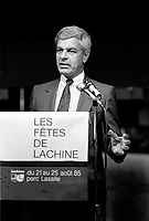 August 13, 1985 File Photo - Guy Descary, Mayor, Lachine