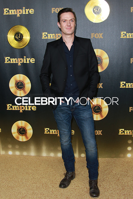 HOLLYWOOD, LOS ANGELES, CA, USA - JANUARY 06:  Fil Eisler at the Los Angeles Premiere Of FOX's 'Empire' held at ArcLight Cinemas Cinerama Dome on January 6, 2015 in Hollywood, Los Angeles, California, United States. (Photo by David Acosta/Celebrity Monitor)