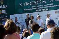 SAR Pincipe Felipe y SM la Reina Sofía .X TROFEO S.M. LA REINA - 10 to 13 July 2008 - Real Club Náutico de Valencia, Valencia, España/Spain