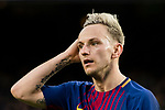Ivan Rakitic of FC Barcelona reacts during the La Liga 2017-18 match between FC Barcelona and Getafe FC at Camp Nou on 11 February 2018 in Barcelona, Spain. Photo by Vicens Gimenez / Power Sport Images