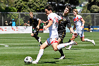 Zac Zoricich of Waitakere United during the ISPS Handa Men's Premiership - Team Wellington v Waitakere Utd at David Farrington Park,Wellington on Saturday 30 January 2021.<br /> Copyright photo: Masanori Udagawa /  www.photosport.nz