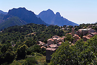 Evissa bei der Spelunca-Schlucht, Korsika, Frankreich