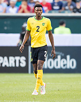 PHILADELPHIA, PA - JUNE 30: Jamoi Topey #2 during a game between Panama and Jamaica at Lincoln Financial FIeld on June 30, 2019 in Philadelphia, Pennsylvania.