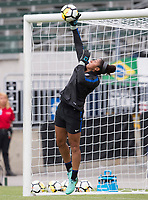 Carson, CA - August 2, 2017: The USWNT trains before the final game of the Tournament of Nations at StubHub Center.