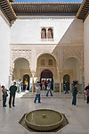 ESP, Spanien, Andalusien, Granada: Alhambra, Patio del Mexuar | ESP, Spain, Andalusia, Granada: Alhambra, Patio del Mexuar