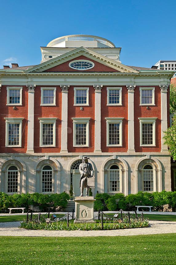 """Pennsylvania Hospital, """"Pennsy"""", is a hospital Philadelphia, Pennsylvania, USA. Circa 1756. First hospital in the USA"""