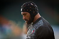 6th February 2021; Mattoli Woods Welford Road Stadium, Leicester, Midlands, England; Premiership Rugby, Leicester Tigers versus Worcester Warriors; Nemani Nadolo of Leicester Tigers during the pre-match warm-up