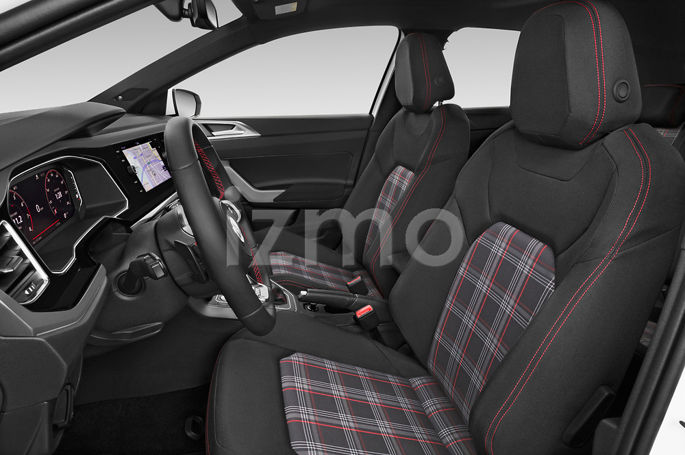 Front seat view of a 2018 Volkswagen Polo GTI 5 Door Hatchback front seat car photos