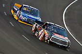 NASCAR Camping World Truck Series<br /> winstaronlinegaming.com 400<br /> Texas Motor Speedway, Ft. Worth, TX USA<br /> Friday 9 June 2017<br /> Christopher Bell, JBL Toyota Tundra and Chase Briscoe, Cooper Standard Ford F150<br /> World Copyright: Nigel Kinrade<br /> LAT Images<br /> ref: Digital Image 17TEX2nk03649