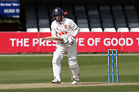 Adam Wheater in batting action for Essex during Essex CCC vs Worcestershire CCC, LV Insurance County Championship Group 1 Cricket at The Cloudfm County Ground on 9th April 2021