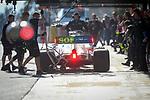 Mercedes-AMG Petronas Motorspor, Lewis Hamilton, takes part in the tests for the new Formula One Grand Prix season at the Circuit de Catalunya in Montmelo, Barcelona. February 19, 2020 (ALTERPHOTOS/Javier Martínez de la Puente)