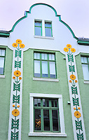 N - NORWAY - ALESUND<br /> Art Nouveau ornamentation on buildings in old town centre<br /> <br /> Full size: 65,8 MB