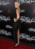 HOLLYWOOD, LOS ANGELES, CA, USA - MAY 31: Mandi Line at the 'Pretty Little Liars' 100th Episode Celebration held at W Hotel Hollywood on May 31, 2014 in Hollywood, Los Angeles, California, United States. (Photo by Xavier Collin/Celebrity Monitor)