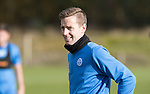 St Johnstone Training….28.10.16<br />Steven MacLean pictured during training this morning at McDiarmid Park ahead of tomorrow's game against Partick Thistle.<br />Picture by Graeme Hart.<br />Copyright Perthshire Picture Agency<br />Tel: 01738 623350  Mobile: 07990 594431