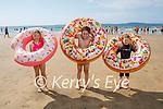 Enjoying the afternoon on Ballybunion beach on Sunday, l to r: Milana, Makasim and David Moissejeva from Killarney.