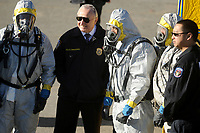 NEW YORK, NY - DECEMBER 16: New York City Police Commissioner William Bratton participates in NYPD counter terrorism drills on December 16, 2015 in New York City.<br /> <br /> <br /> People:  New York City Police Commissioner William Bratton