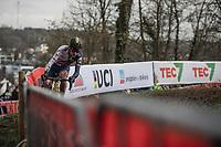 Thomas Pidcock (GBR/Telenet Fidea Lions) <br /> <br /> Men U23 Race<br /> UCI CX Worlds 2018<br /> Valkenburg - The Netherlands