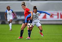Sandefjord, Norway - June 11, 2017: Carli Lloyd during their game vs Norway in an international friendly at Komplett Arena.