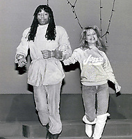 Rick James & Pia Zadora 1986 Photo By John Barrett/PHOTOlink