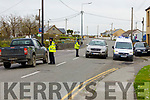 Garda checkpoint in Ballybunion on Good Friday