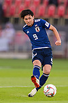 Minamino Takumi of Japan in action during the AFC Asian Cup UAE 2019 Group F match between Oman (OMA) and Japan (JPN) at Zayed Sports City Stadium on 13 January 2019 in Abu Dhabi, United Arab Emirates. Photo by Marcio Rodrigo Machado / Power Sport Images