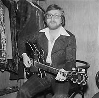 le chanteur Patrick Normand, vers 1977,<br />  (date inconnue, avant 1984),<br /> <br /> Photo : Agence Quebec Presse - Roland Lachance