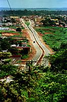 Construção da cidade de Canaã dos Carajás no sul do Pará.