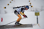 MARTELL-VAL MARTELLO, ITALY - FEBRUARY 02: LANG Kathrin (GER) during the Women 7.5 km Sprint at the IBU Cup Biathlon 6 on February 02, 2013 in Martell-Val Martello, Italy. (Photo by Dirk Markgraf)