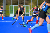 2020 Lower North Island Secondary Schools Hockey Girls Premiership tournament 7th place playoff between Taradale College and Iona College at Massey University in Palmerston North, New Zealand on Friday, 4 September 2020. Photo: Dave Lintott / lintottphoto.co.nz