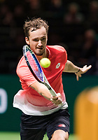 Rotterdam, The Netherlands, 14 Februari 2019, ABNAMRO World Tennis Tournament, Ahoy, Daniil Medvedev (RUS),<br /> Photo: www.tennisimages.com/Henk Koster
