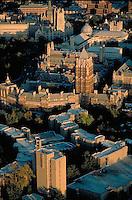 aerial, Ezra Stiles, Grad School, Yale University, New Haven, CT