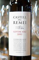 Gotim Bru 2002, tempranillo merlot cabernet sauvignon. Castel del Remei, Costers del Segre, Catalonia, Spain.