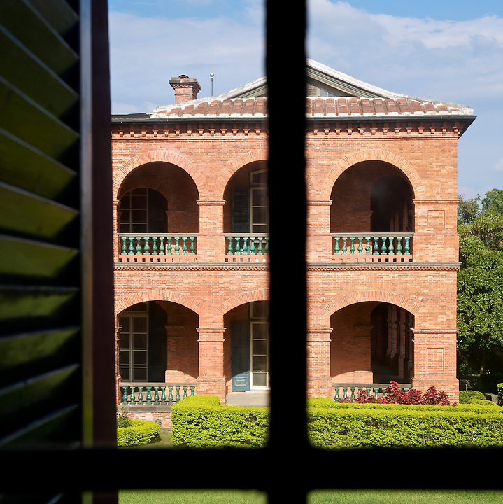 The Consul's Residence From Fort San Domingo In Tamsui, Taiwan.
