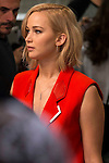 "Actress Jennifer Lawrence during the presentation of film ""The Hunger Games: Sinsajo Part 2"" in Madrid, Novermber 10, 2015.<br /> (ALTERPHOTOS/BorjaB.Hojas)"