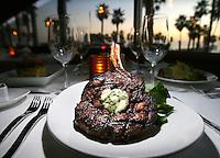 Food.333pacific.2.0109.jl.jpg/photo jamie Scott Lytle/Cowboy bone-in ribeye steak $39.95