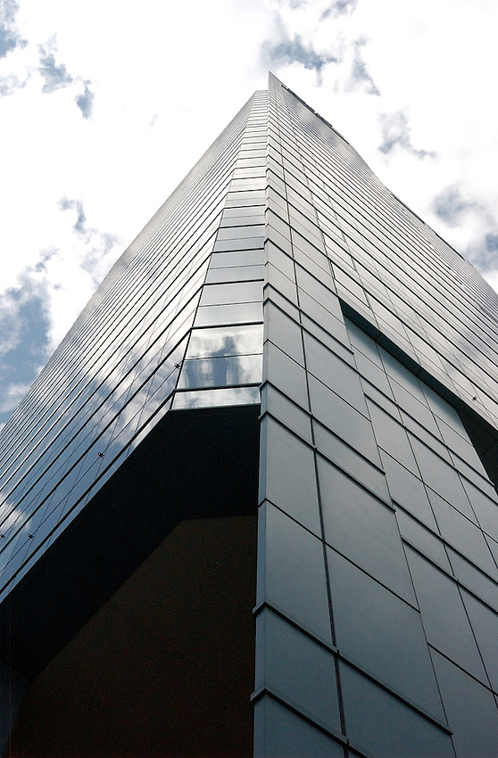 Glass facade building in Sydney's CBD.
